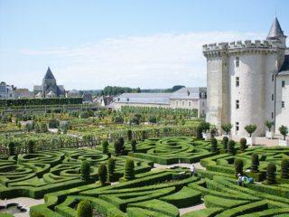 Villandry: der Schlossgarten. Foto: Hilke Maunder