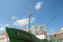F/Vendée/Île d'Yeu/Port Joinville: Hafen