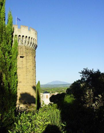 Drôme_Château de Suze La Rousse_©Hilke Maunder