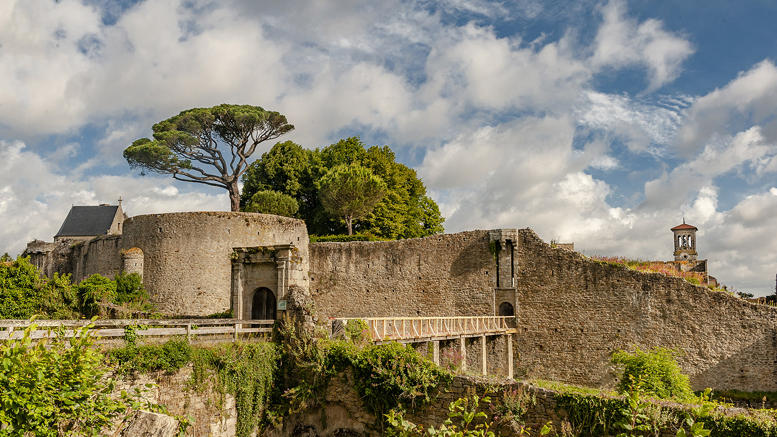 Clisson: Burg. Foto: Hilke Maunder