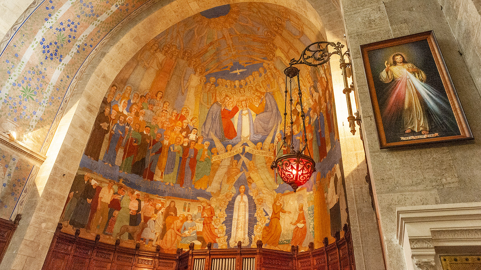 Clisson: Freske von Notre-Dame Foto: Hilke Maunder