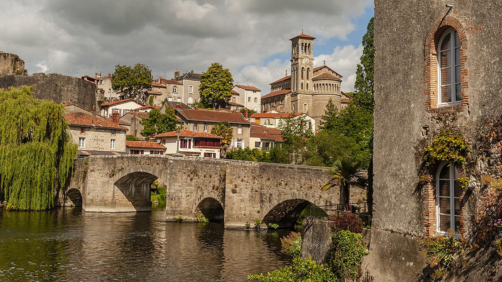 Clisson: der Pont de la Vallée. Foto: Hilke Maunder
