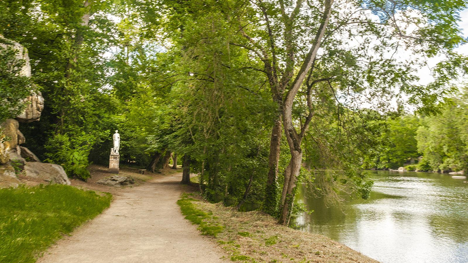 Clisson: Das italienisch inspirierte Anwesen La Garenne erstreckt sich bis an die Ufer der Sèvre Nantaise. Foto: Hilke Maunder