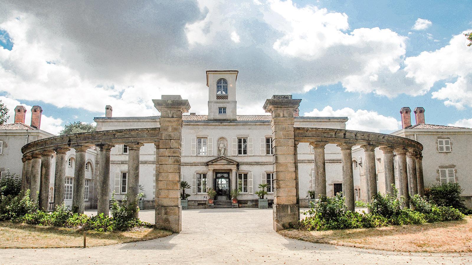 Clisson: die Hauptvilla von La Garenne. Foto: Hilke Maunder