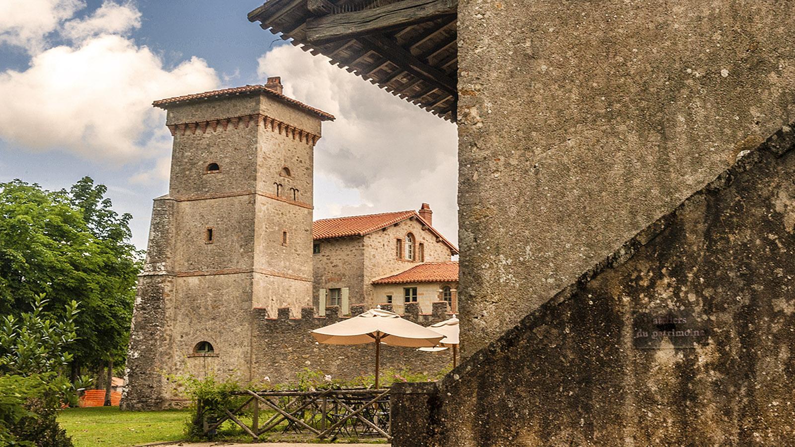 Clission; die befestigte Hofstelle von La Garenne. Foto: Hilke Maunder