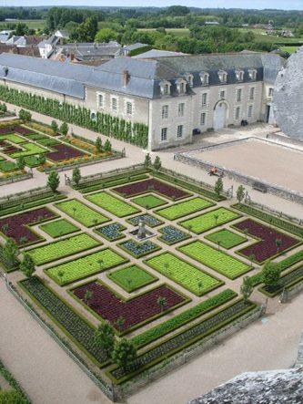 Der Potager des Château de Villandry
