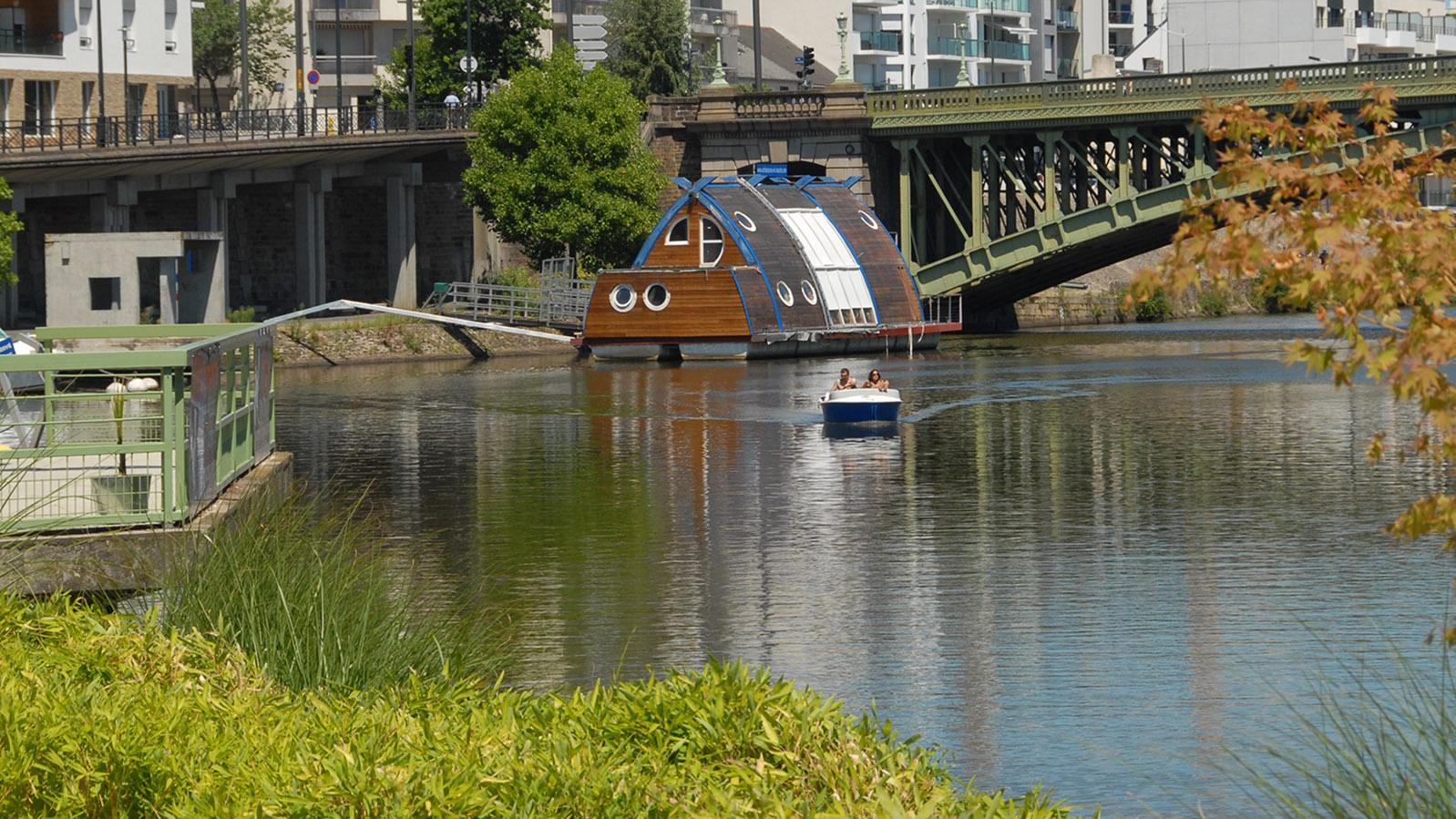 Nantes: Bootstour auf der Erddre