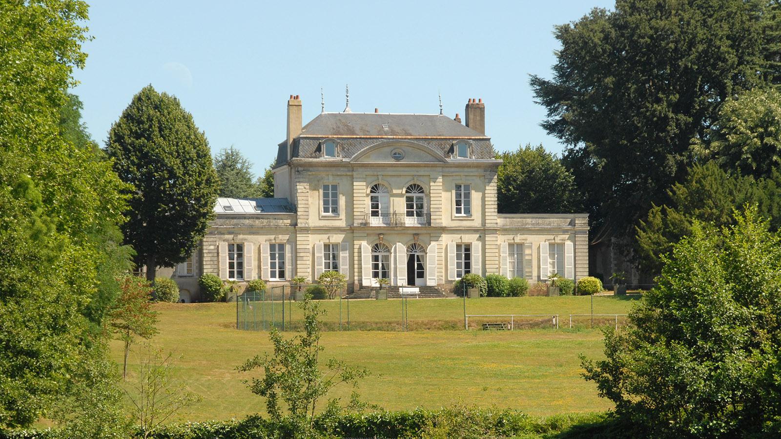 Nantes: Landsitz am Erdre. Foto: Hilke Maunder