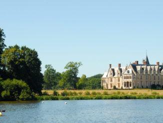 Nantes: die Erde mit dem Château de la Gascherie. Foto: Hilke Maunder