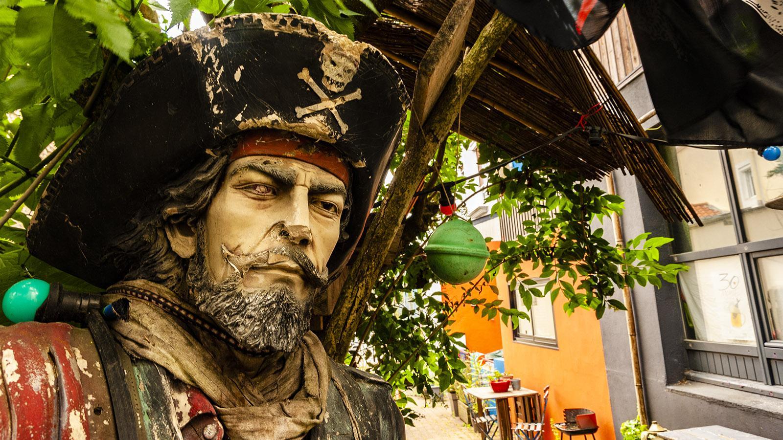 Nantes: Trentemoult. Ein Pirat... Foto: Hilke Maunder