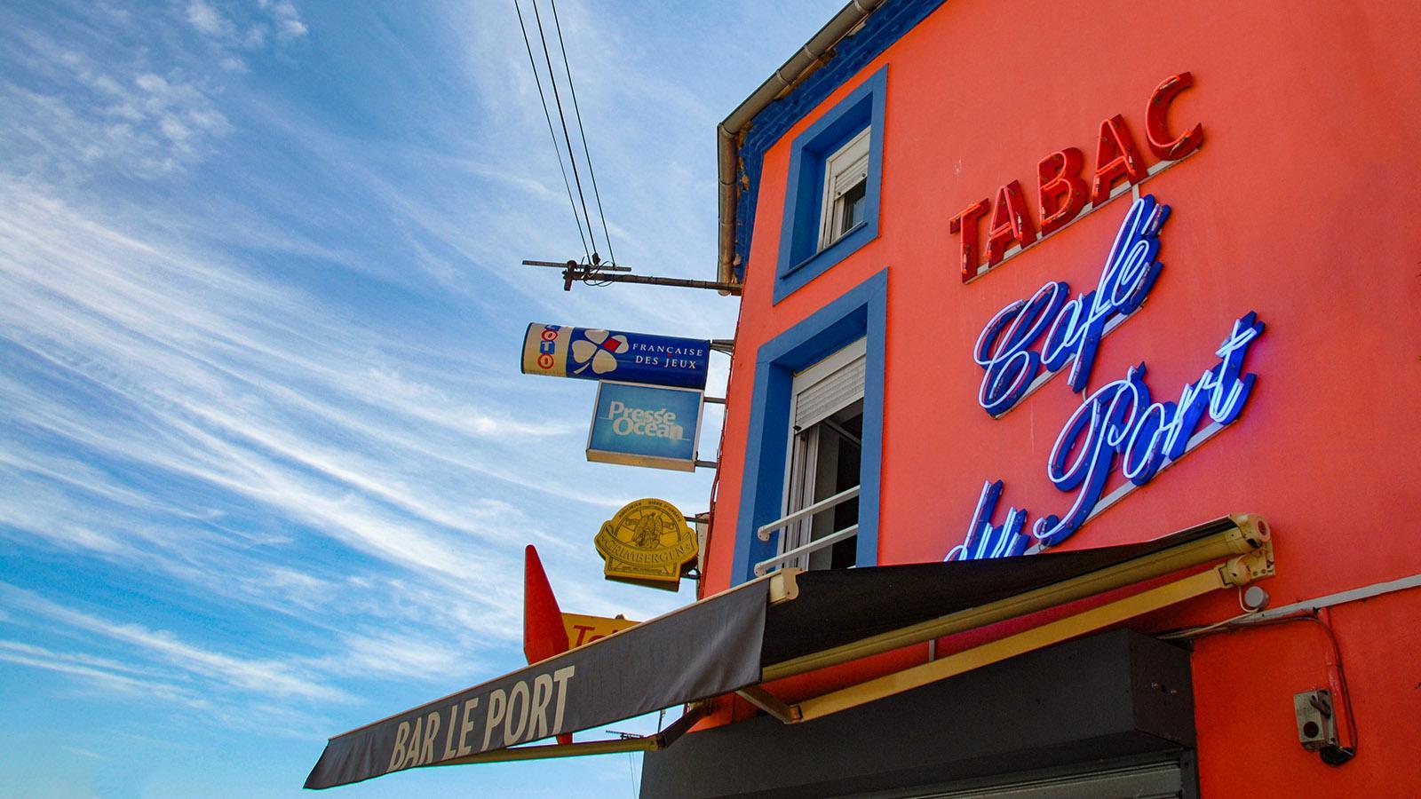 Trentemoult: Zu jeden Hafen gehört eine Bar... Foto: Hilke Maunder