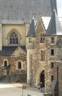 F/Maine-et-Loire/Angers: Schloss von König René, Châtelet