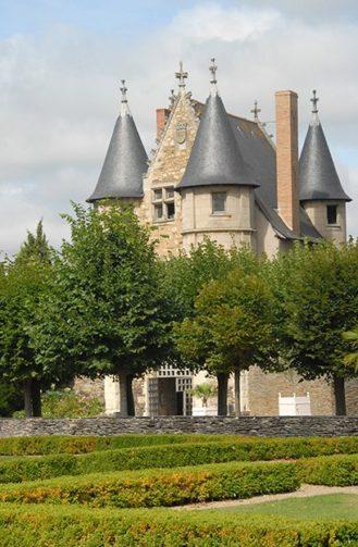 F/Maine-et-Loire/Angers: Schloss von König Reném, Châtelet