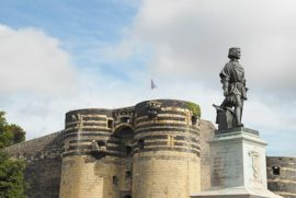 F/Maine-et-Loire/Angers: Schloss von König René