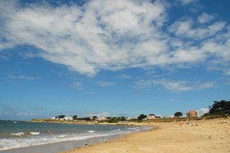 F/Vendée/Île de Noirmoutier/L'Herbaudière: Plage de Luzéronde