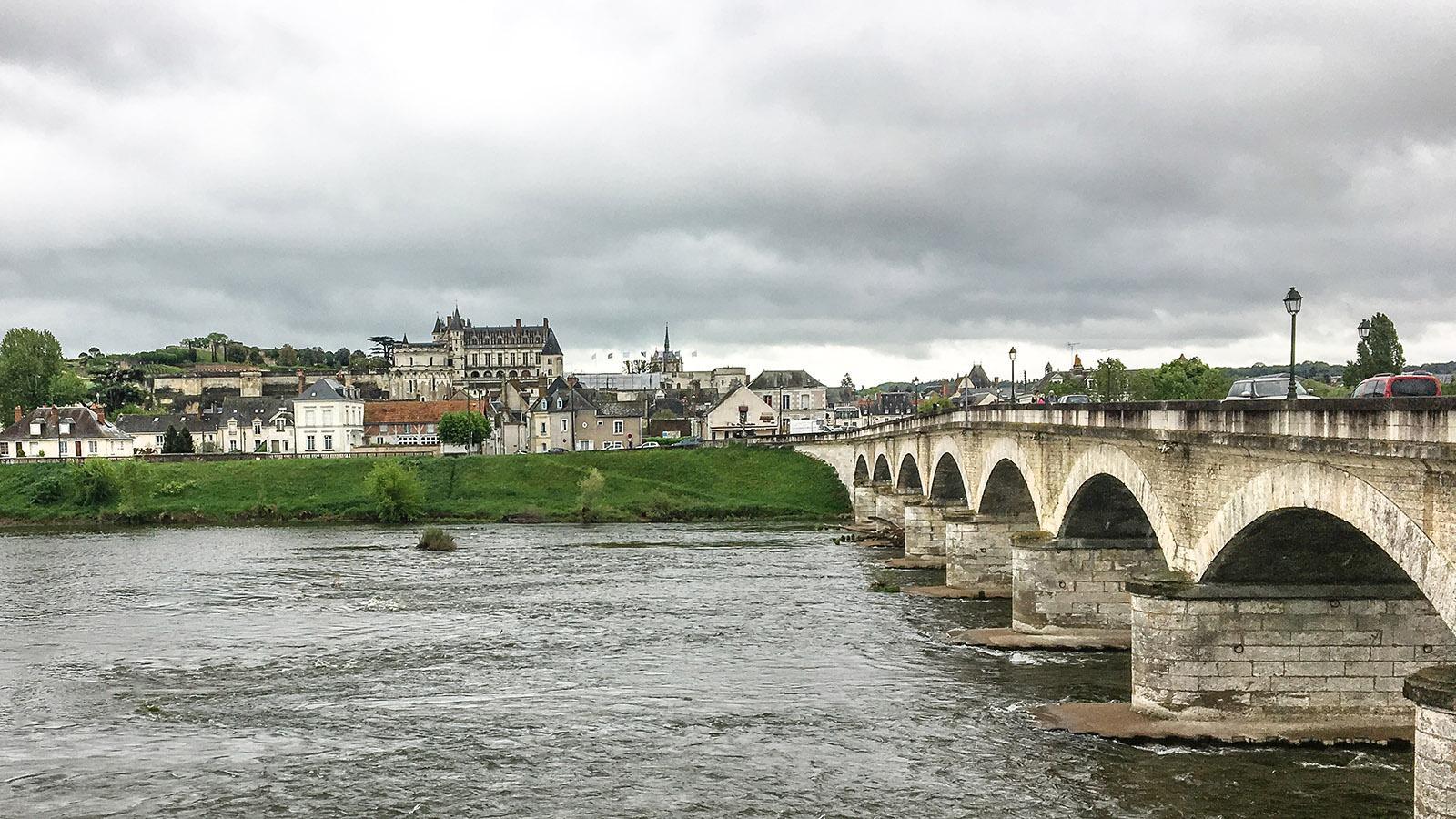 Die Loire bei Amboise. Foto: Hilke Maunder