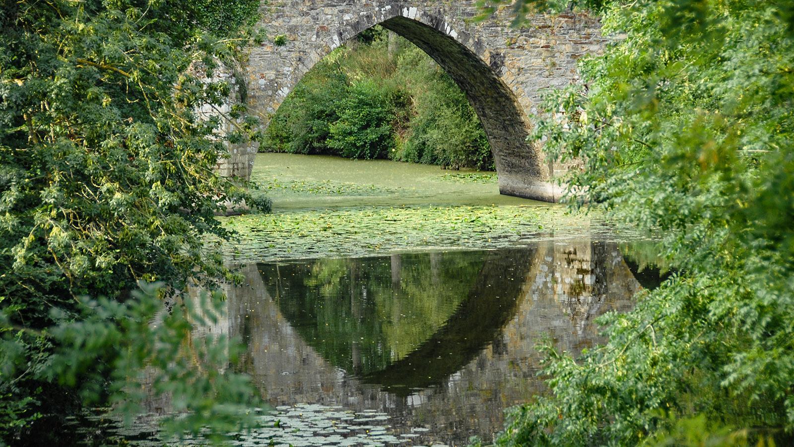 Der Pont de Sénard von St-Hilaire-de- Loulay. Foto: Hilke Maunder