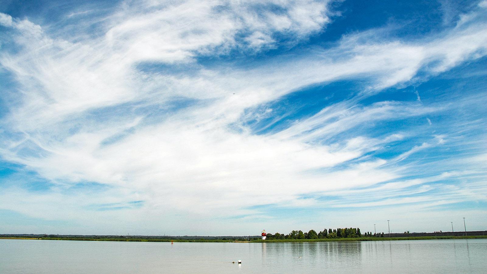 Am Unterlauf der Loire bei Cordemais.Foto: Hilke Maunder