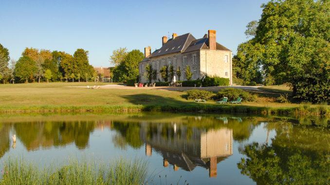 Das Château de Sarzeaux umgibt eine riesiger Schlosspark. Foto: Hilke Maunder