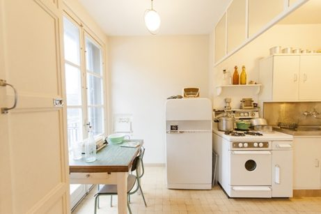 Normandie_Le Havre_Appartement Témoin_Küche_4_©Hilke Maunder