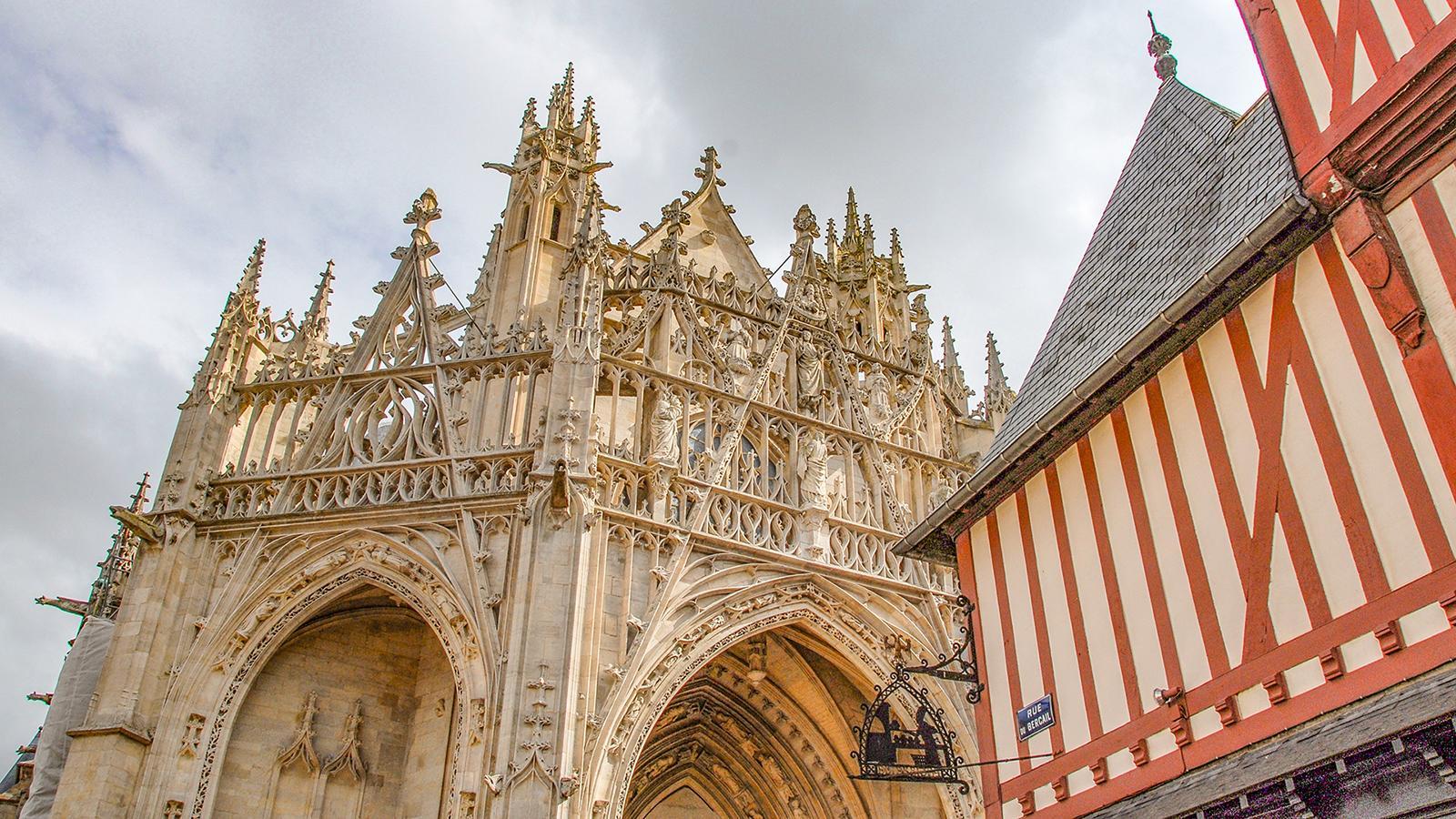 Spitze in Stein: die Kathedrale von Alençon. Foto: Hilke Maunder