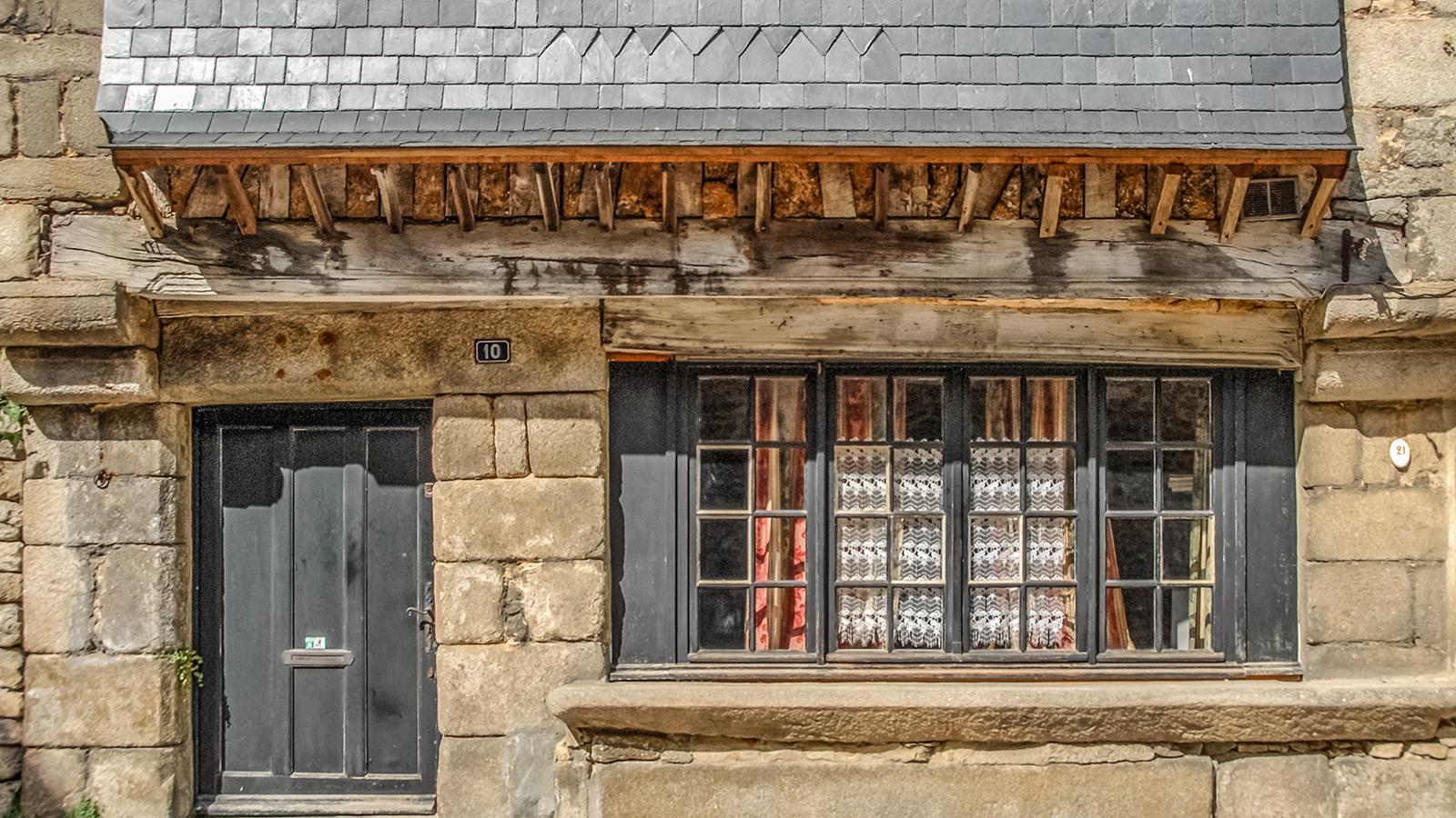 Ein Wohnhaus im Quartier St-Léonhard von Alençon. Foto: Hilke Maunder
