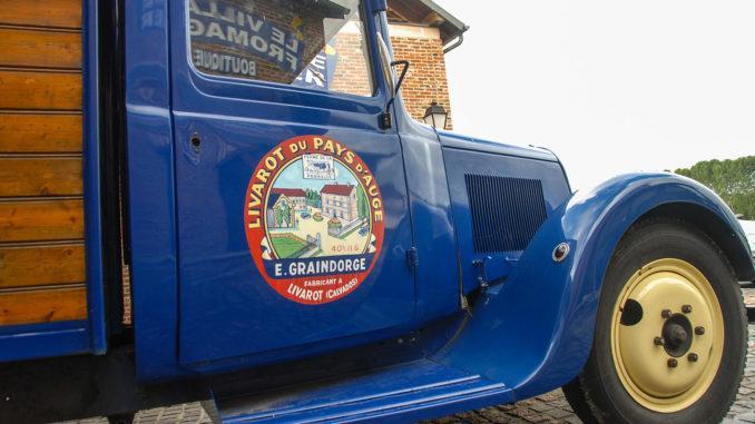 Livarot: historischer Lieferwagen. Foto: Hilke Maunder