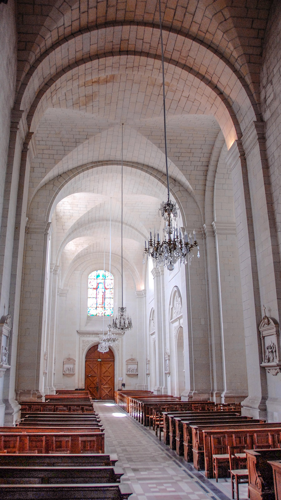 Saint-Florent-le-Vieil: Abteikirche. Foto: Hilke Maunder