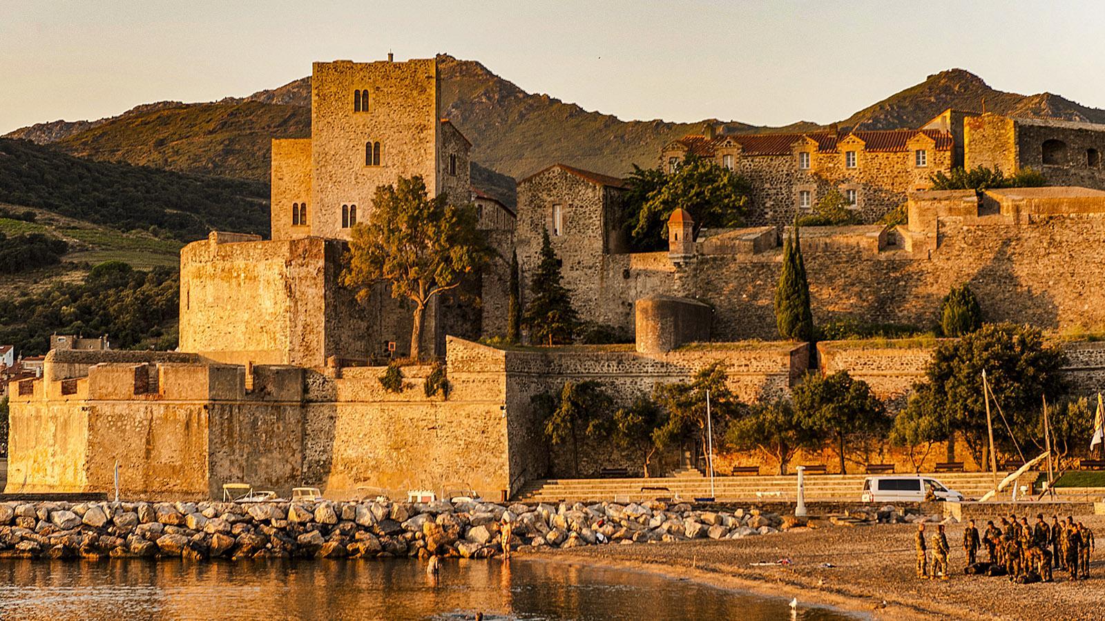 Das Château Royal von Collioure wird bis heute auch militärisch genutzt. Foto: Hilke Maunder
