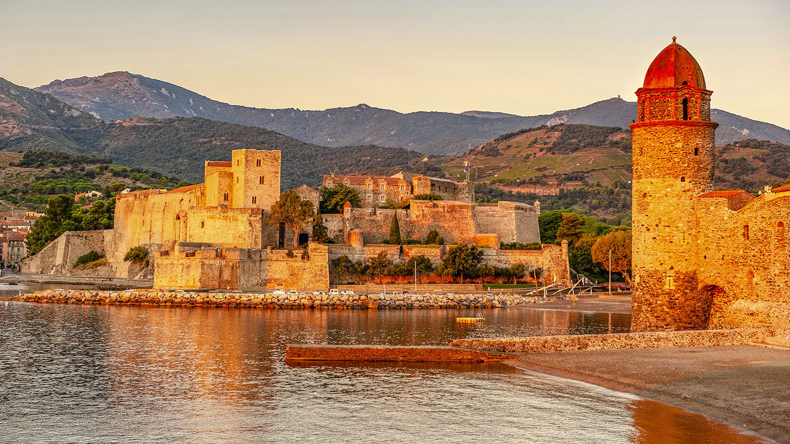 Morgens in Collioure. Foto: Hilke Maunder