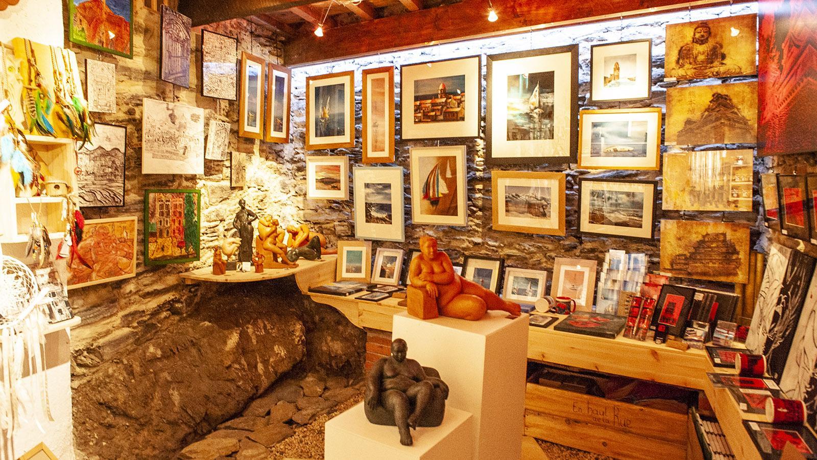 Die Künstlergalerie En Haut de la Rue. Foto: Hilke Maunder
