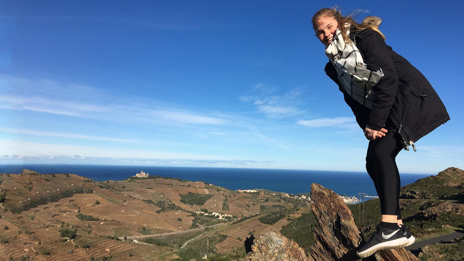 In den Albères oberhalb von Collioure. Foto: Hilke Maunder