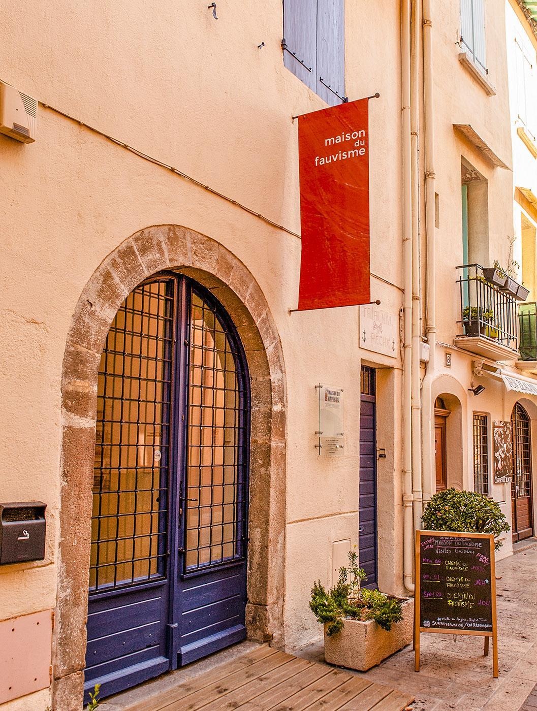 Die Maison des Favuves von Collioure. Foto: Hilke Maunder