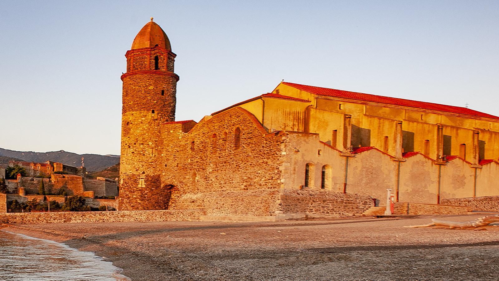 Notre-Dame des Anges am frühen Morgen von Osten gesehen. Foto: Hilke Maunder
