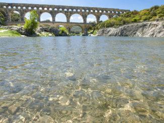 Pont du Gard mit Gardon. Foto: Hilke Maunder