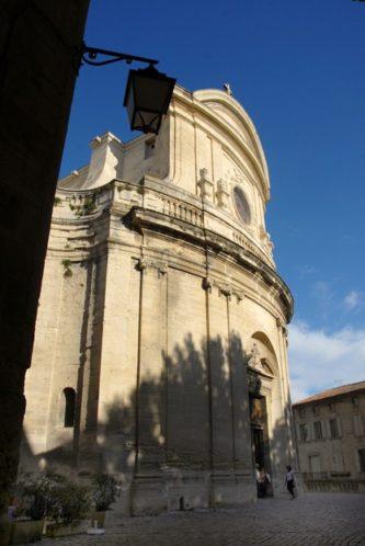 F/Gard/Uzs: Altstadt, ƒglise St-Etienne
