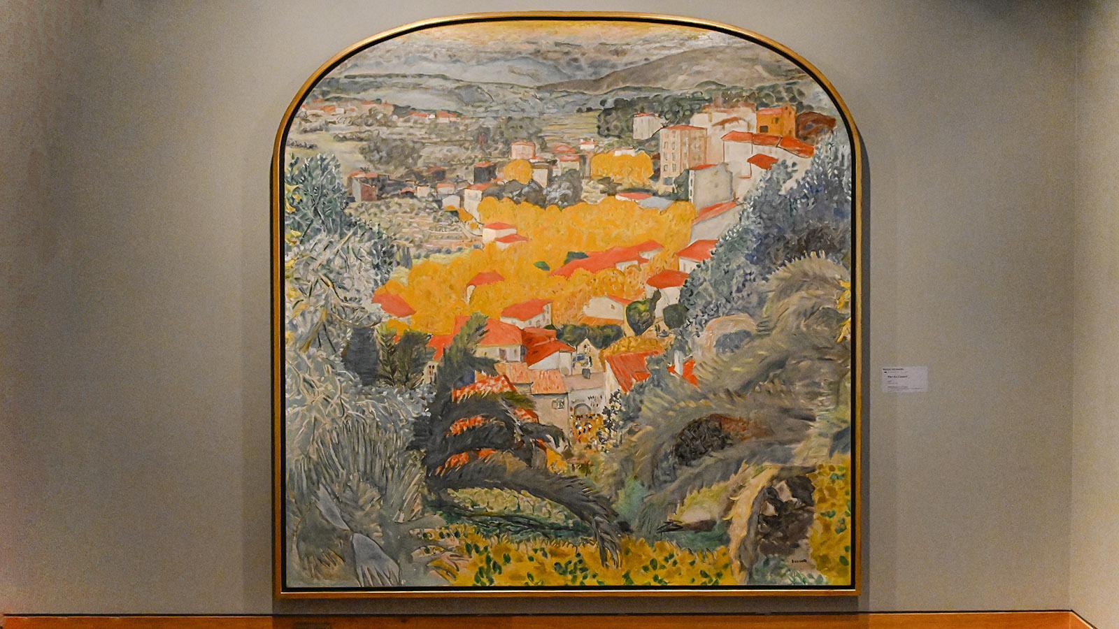 Musée Bonnard: Der Blick auf Le Cannet. Foto: Hilke Maunder
