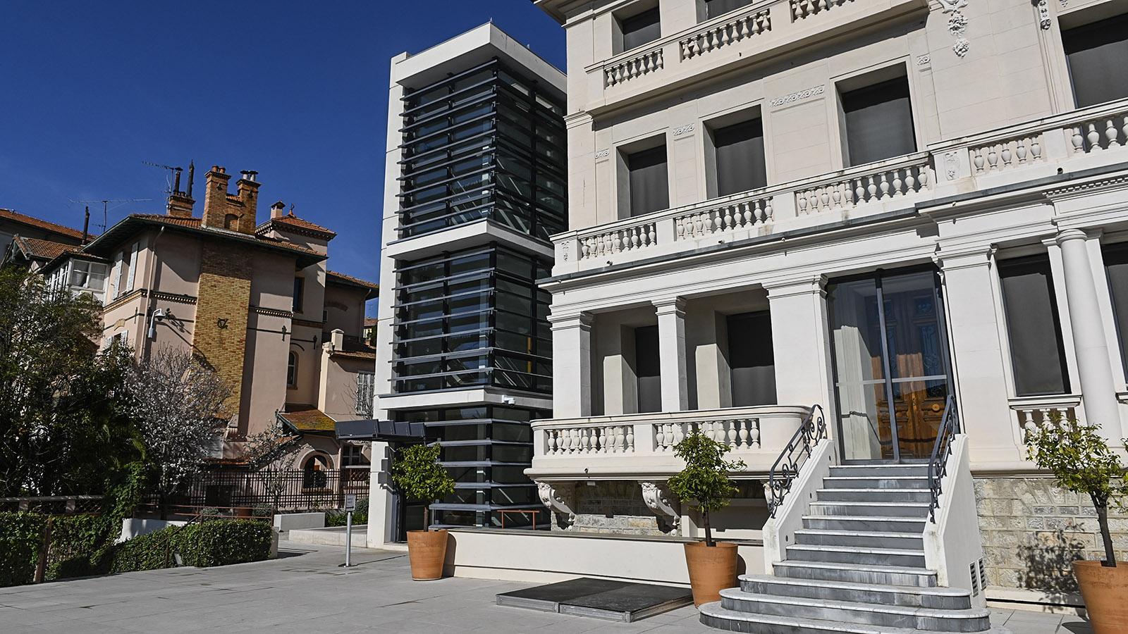 Das Bonnard-Museum von Le Cannet. Foto: Hilke Maunder