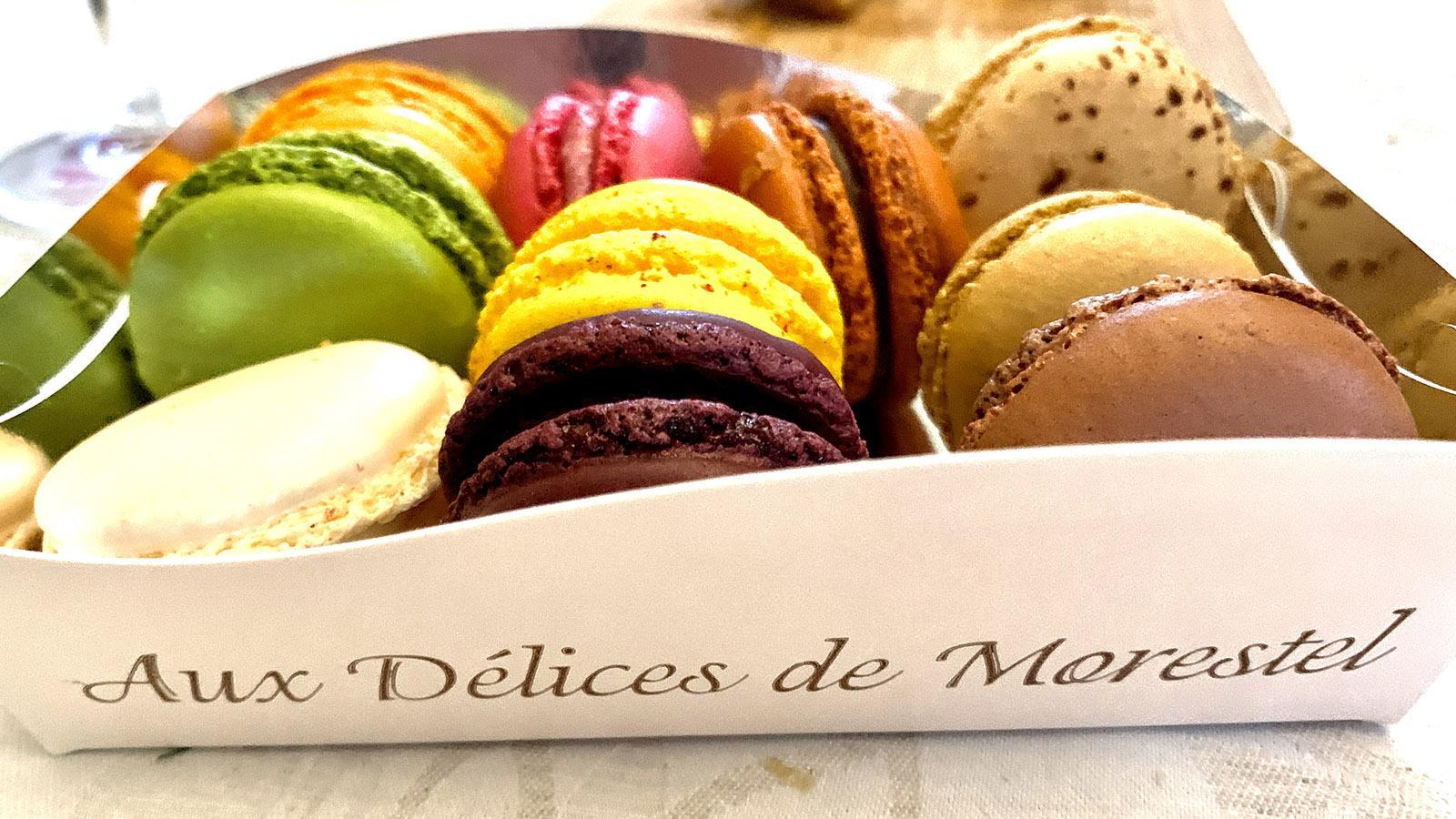 Macarons aus Morestal, Isère. Foto: Hilke Maunder