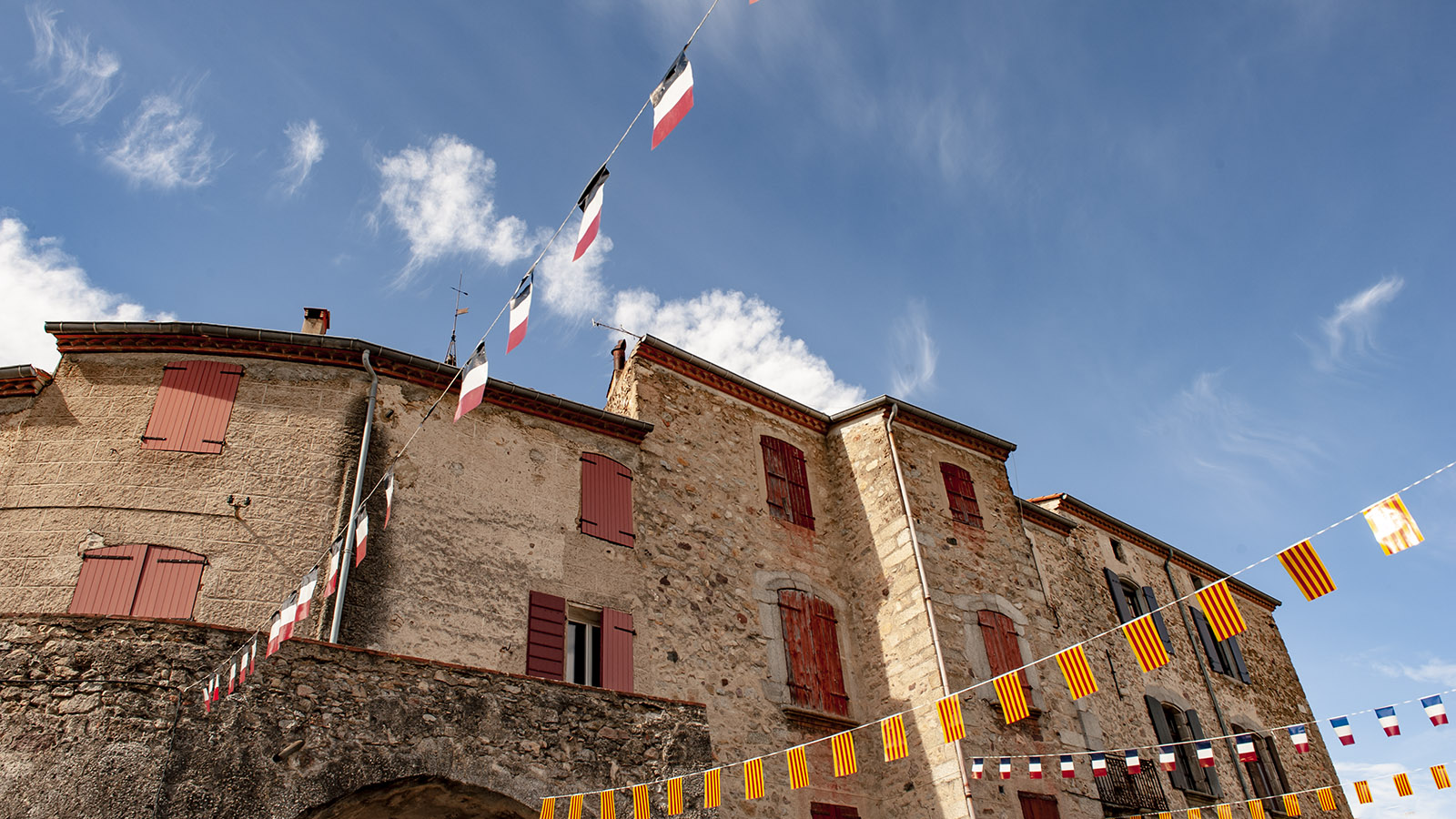 Die Altstadt von Saint-Laurent-de-Cerdans. Foto: Hilke Maunder