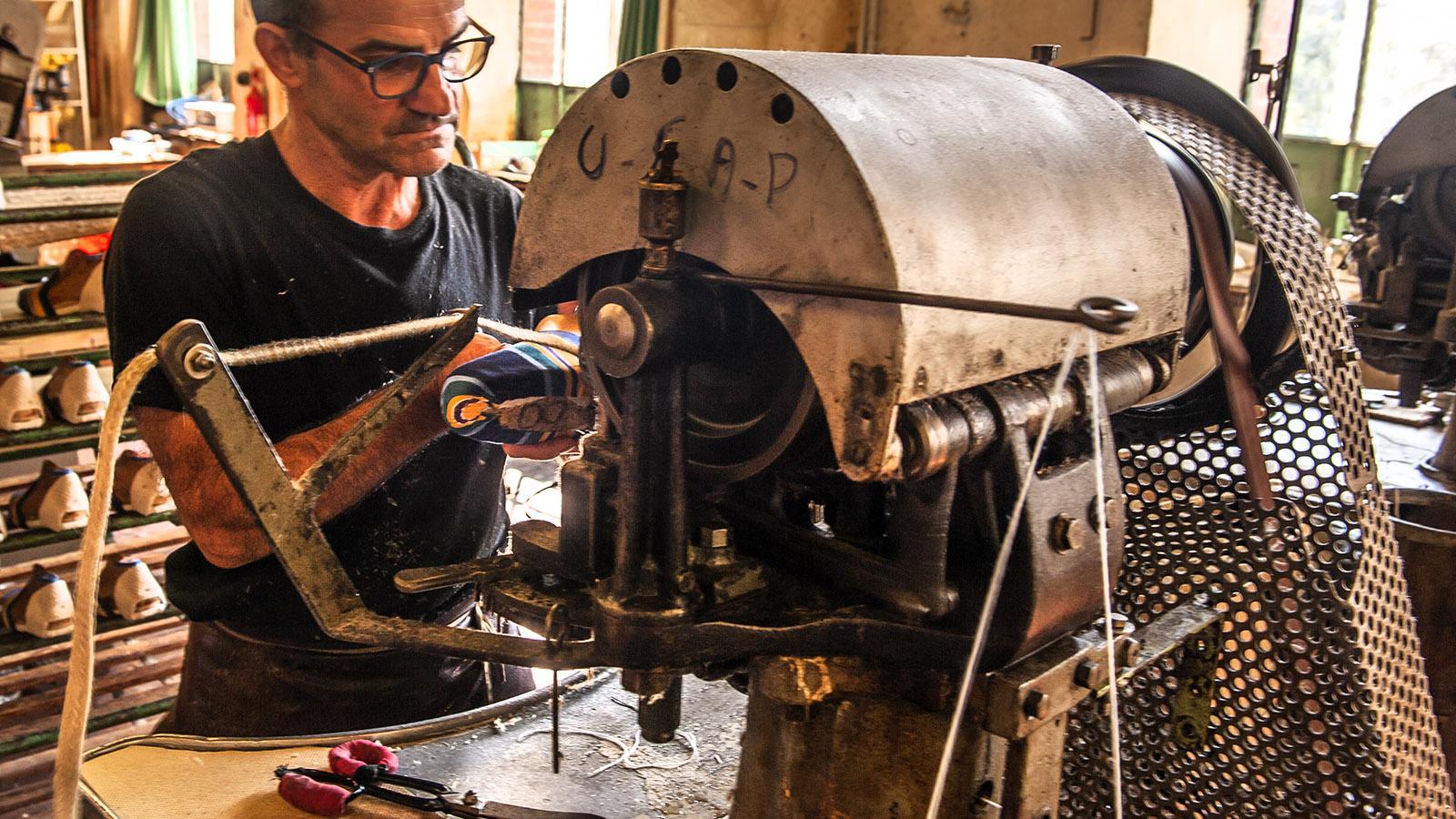 Katalanen-Handwerk bei Création Catalane. Foto: Hilke Maunder
