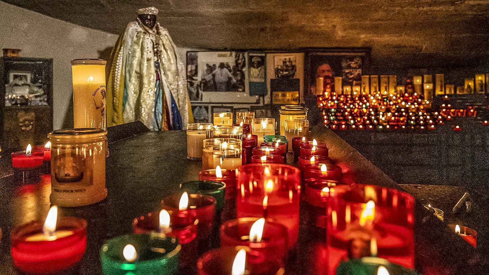 Die schwarze Sara. Foto: Hilke Maunder