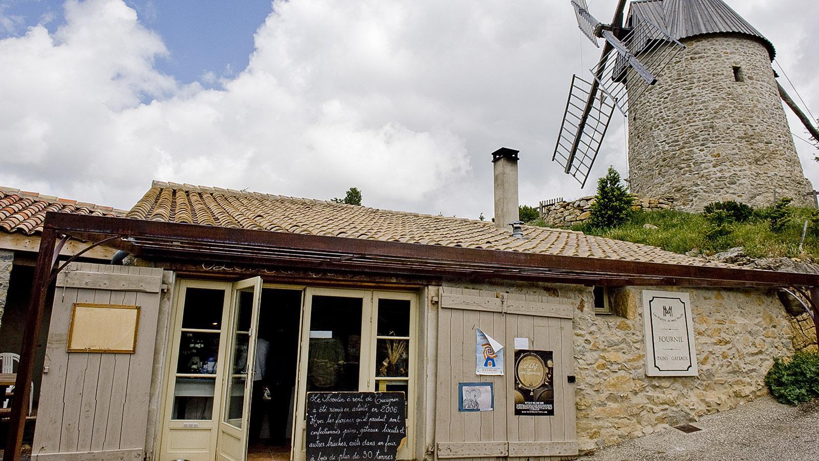Maitres de mon moulin: die Mühlenbäckerei von Cucugnan. Foto: Hilke Maunder