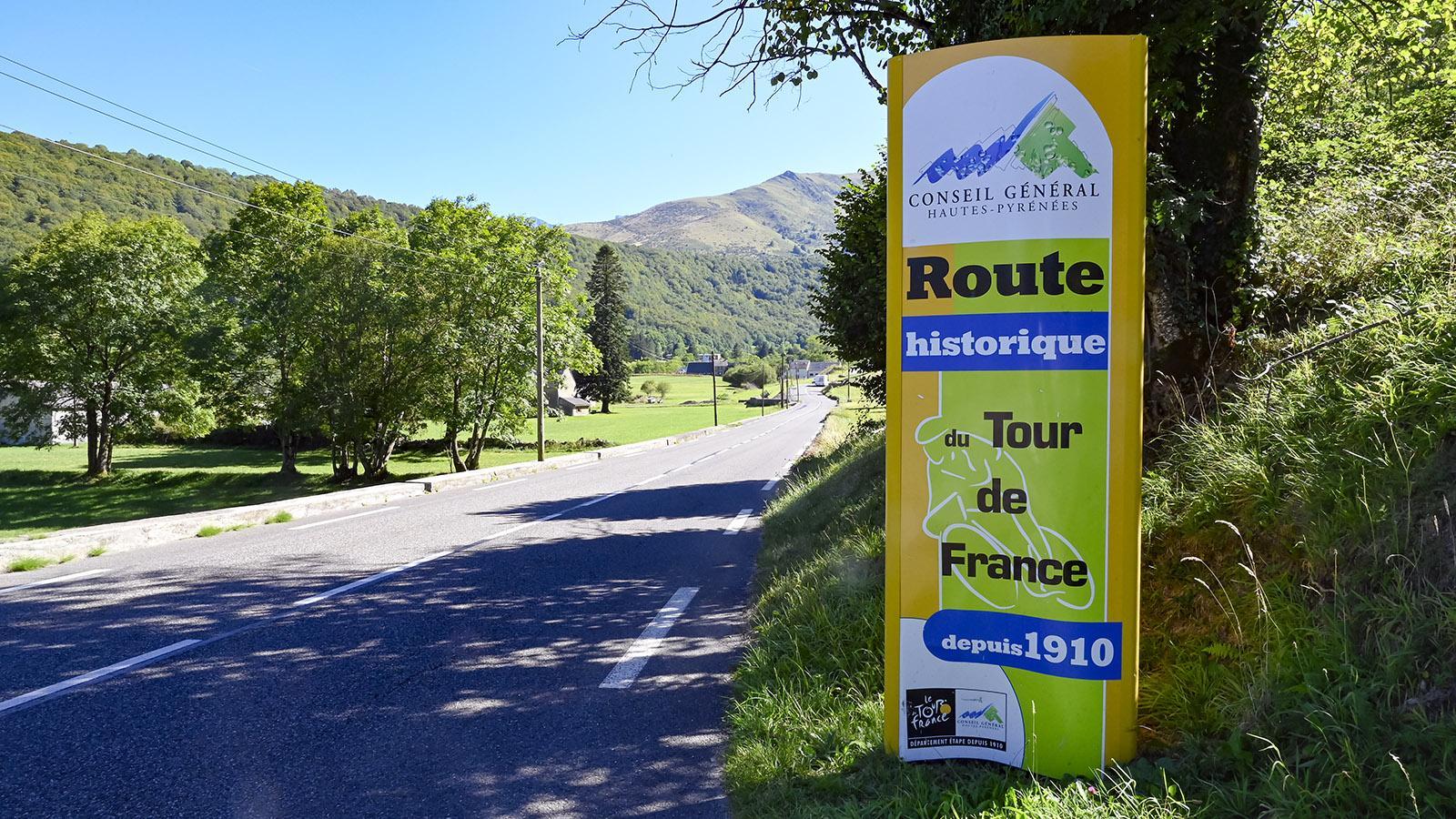 Ein Klassiker der Tour de France: der Aufstieg zum Col du Tourmalet. Foto: Hilke Maunder