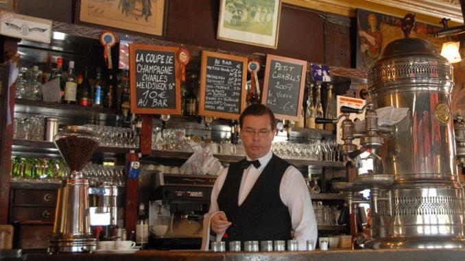 Île Saint-Louis: die Brasserie Berthillon. Foto: Hilke Maunder