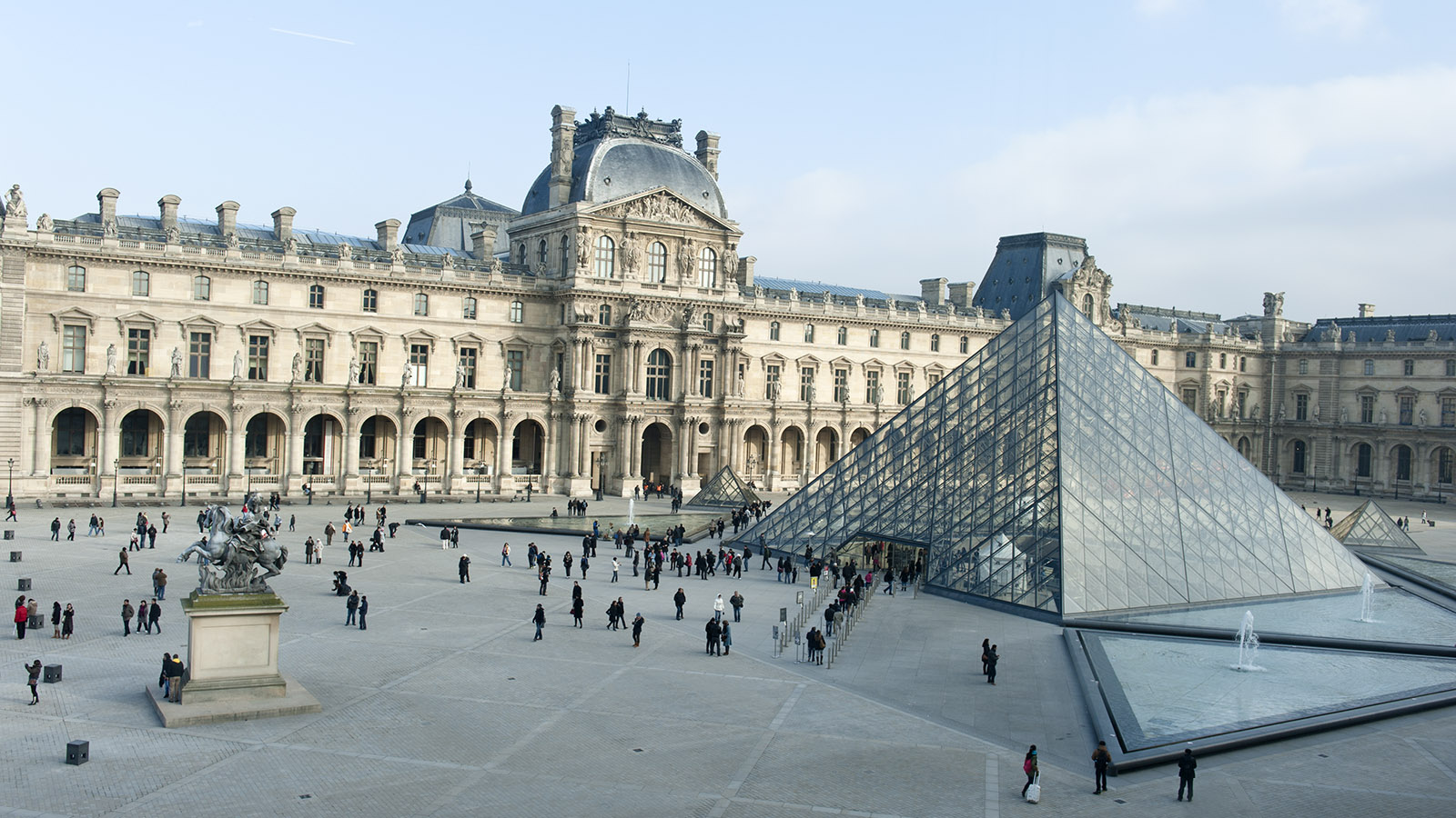 Der Louvre von Paris. Foto: Hilke Maunder