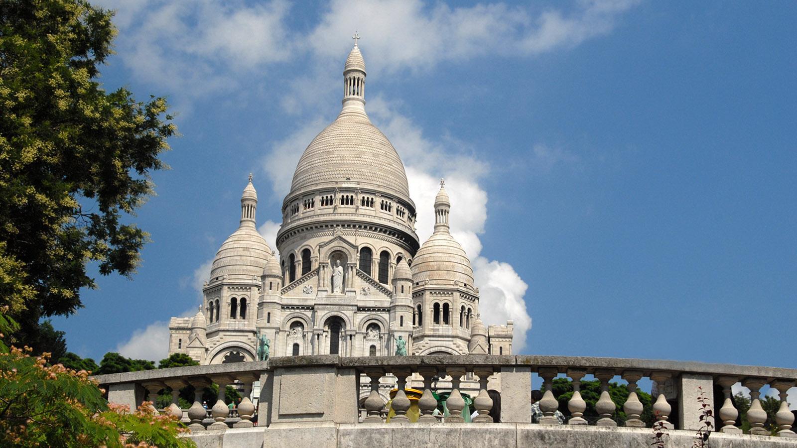 Paris. Die Basilika Sacré-Cœur. Foto: Hilke Maunder