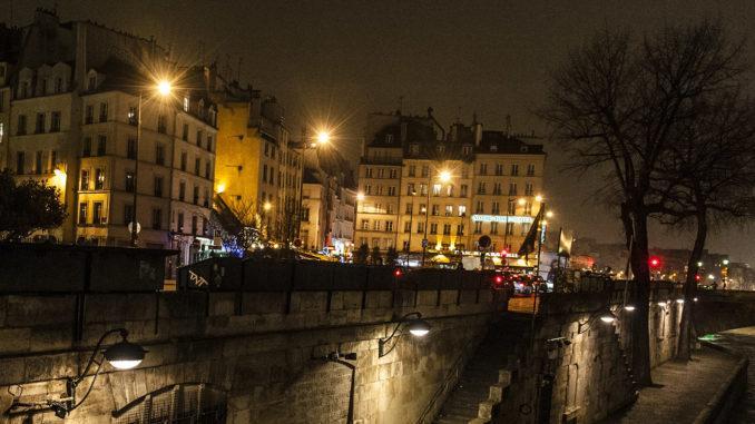 ville lumière: Das Quartier Latin bei Nacht. Foto: Hilke Maunder