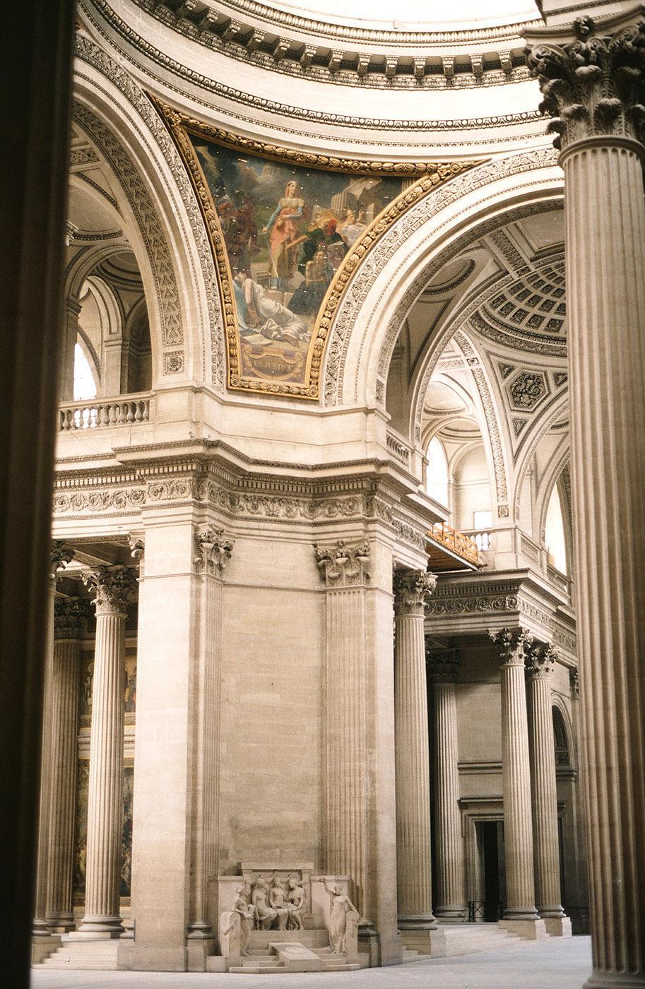 Das Panthéon von innen. Foto: Hilke Maunder