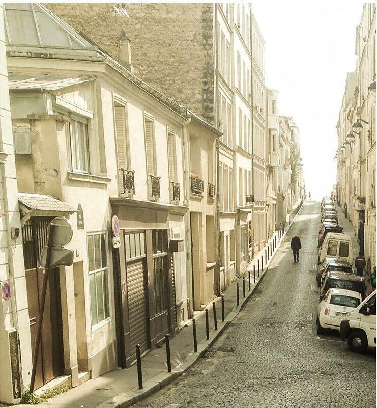 Der stille Charme von Montmartre. Foto: Hilke Maunder
